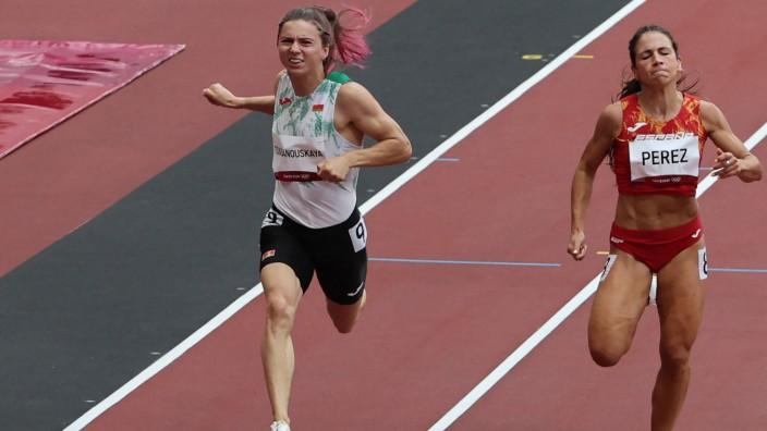 Leserdiskussion: Hinter ihrem Rücken wurde entschieden, dass die 200-Meter-Spezialistin ebenso die 4-mal-400-Meter Staffel laufen muss. Dagegen wehrte sich die Sportlerin.