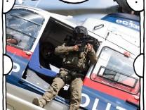 Wien 21 08 2017 Donau Wien AUT AUT Internationale TerrorUebung mit Szenario Geisellage mit akut