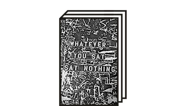 """Gilles Peress: """"Whatever You Say, Say Nothing"""": Gilles Peress: Whatever You Say, Say Nothing. Steidl , Göttingen 2021. Drei Bände, 1295 Abbildungen, 1960 Seiten, 425 Euro."""