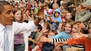 US-Bildungssystem: 18 Milliarden Dollar für frühe Förderung, bessere Schulen und Stipendien: Obama in Pennsylvania beim Besuch einer Grundschule