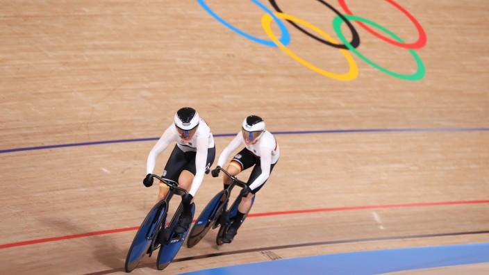 Bahnrad bei Olympia 2021: Lea Sophie Friedrich und Emma Hinze