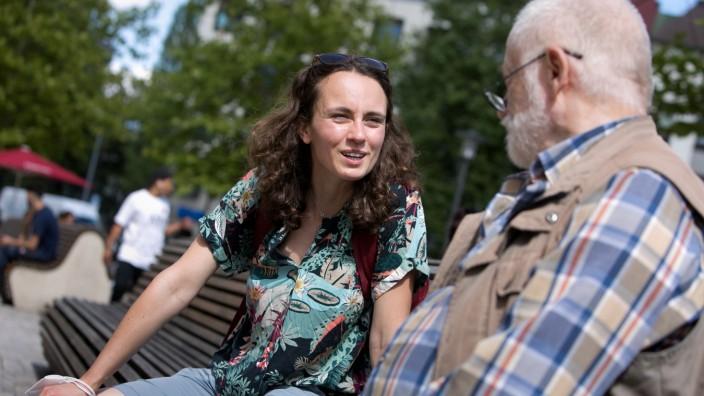 Anna Kunkel, Streetworkerin für Senioren