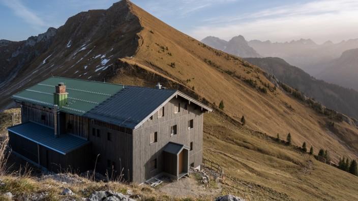 Tölzer Hütte nach dem Umbau