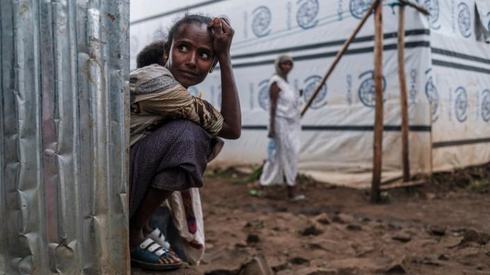 Äthiopien, Kämpfe um Tigray, Flüchtlinge