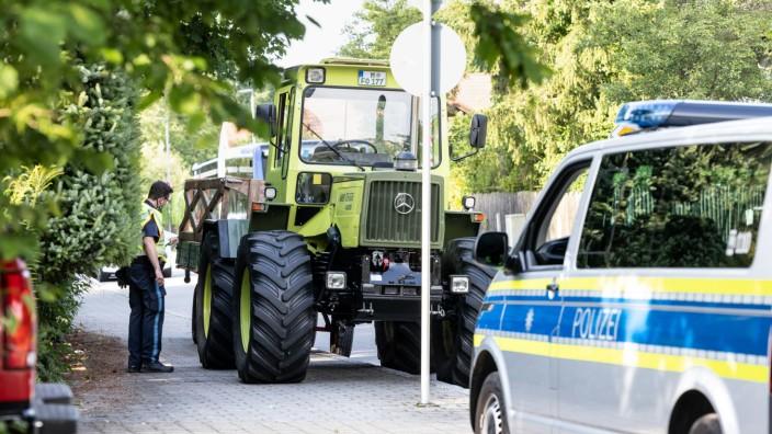 20 Verletzte nach Traktorunfall in Gräfelfing