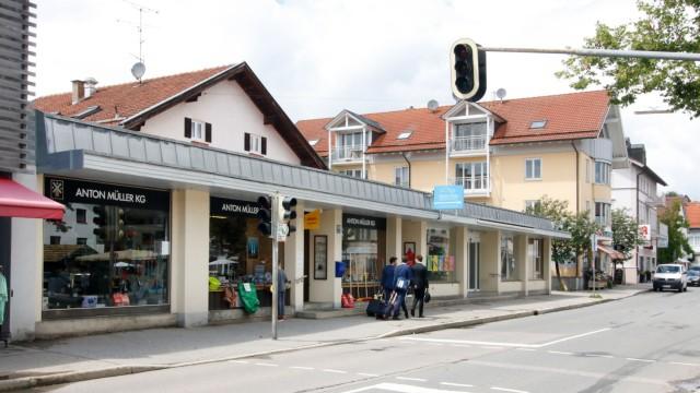 Altes Geschäftshaus muss Neubau weichen; In der Tutzinger Ortsmitte entsteht: