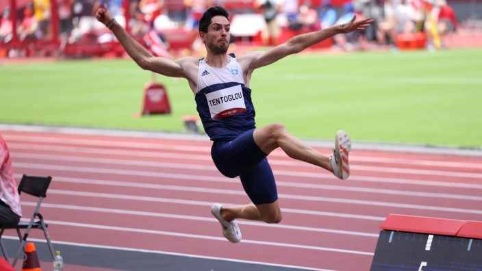 TENTOGLOU Miltiadis (GRE), AUGUST 2, 2021 - Athletics : Men s Long Jump Final during the Tokyo 2020 Olympic Games, Olym