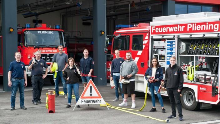 Kursabschluss in Pliening: Die angehenden Jugendwarte treffen sich zum letzten Teil ihres Lehrgangs im Feuerwehrhaus Pliening.