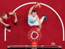 Slovenia v Germany Men's Basketball - Olympics: Day 11
