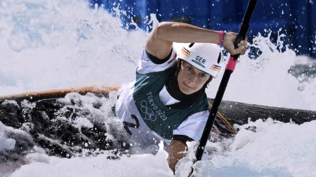 FUNK Ricarda Team GER Olympiasiegerin K-1 Frauen TOKYO Olympic Games, Olympische Spiele, Olympia, OS 2020 Sommerspiele