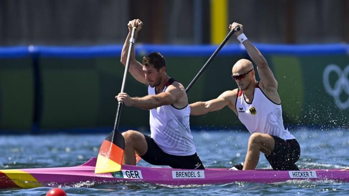 Sebastian Brendel / Tim Hecker (ger) - Men s Canoe double 1000m CANOE : Jeux Olympiques - Tokyo 2020 - 03/08/2021 JBAuti