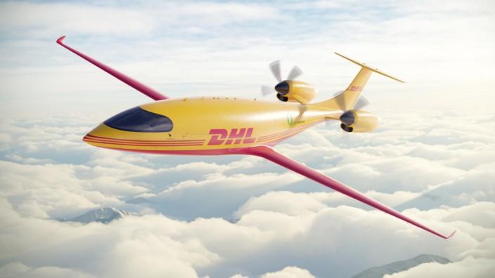 """Logistik: Das Flugzeug """"Alice"""" soll bis zu 1,2 Tonnen Fracht transportieren können - verschwindend wenig im Vergleich zur Boeing 777, die bis zu 100 Tonnen befördern kann."""