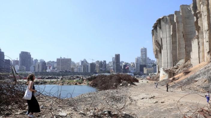 Beirut/Libanon - ein Jahr nach der Explosion
