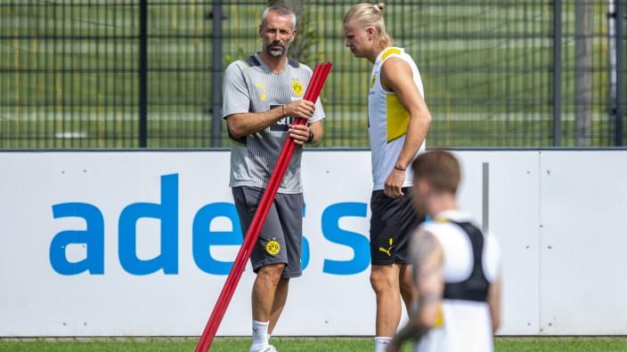 Fußball: 1. Bundesliga, Saison 2021/2022, Training von Borussia Dortmund am 15.07.2021 in Dortmund Brackel (Nordrhein-W