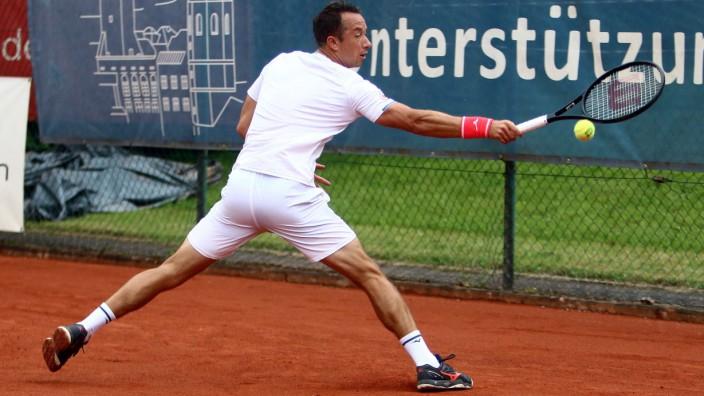 Rosenheim, Tenniscenter Rosenheim 01.08.21, Tennis, 1. Bundesliga Herren, Rosenheimer Unterstützungskasse vs TC Großhes