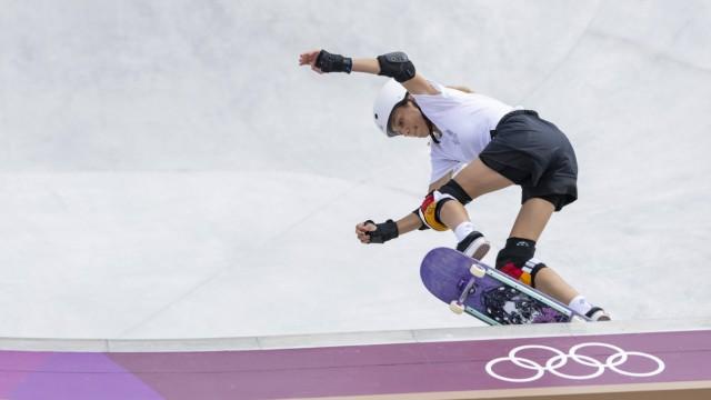 Tokyo Tokio, 04.08.2021, Japan, Olympic Games, Olympische Spiele, Olympia, OS STOEPHASIUS Lilly (GER) Ariake Park Skate