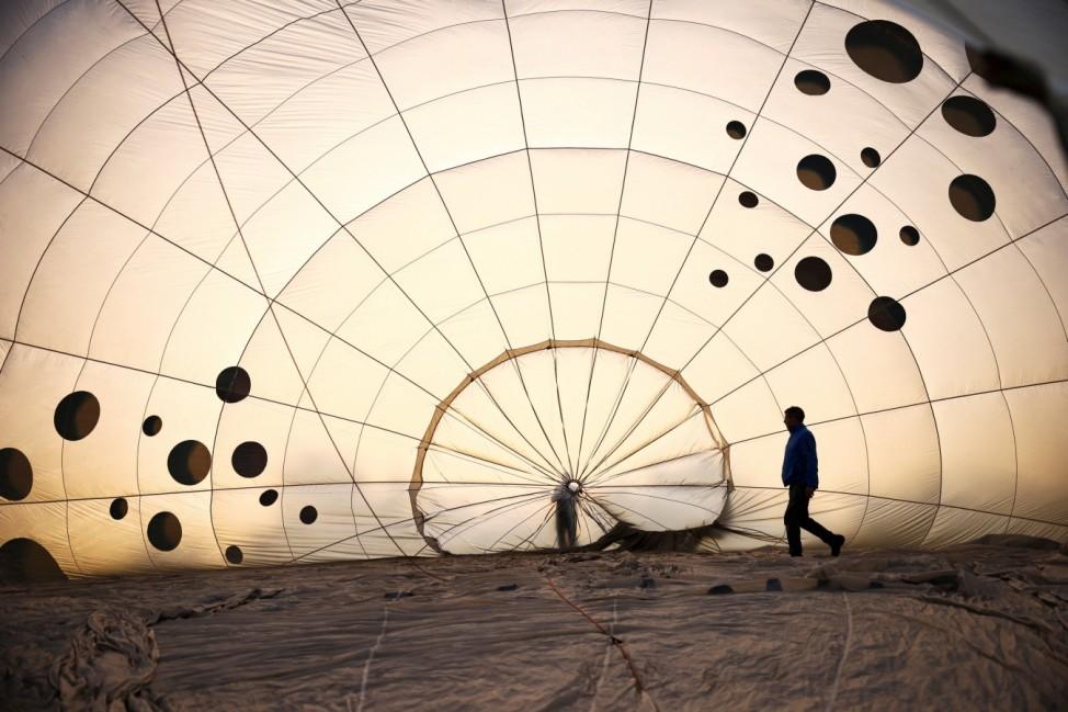 The Bristol International Balloon Fiesta in Bristol