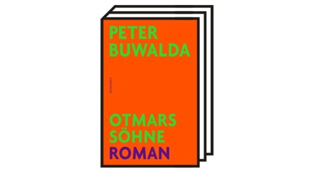 """Peter Buwaldas Roman """"Otmars Söhne"""": Peter Buwalda: Otmars Söhne. Roman. Aus dem Niederländischen von Gregor Seferens. Rowohlt, Hamburg 2021. 620 Seiten, 24 Euro."""