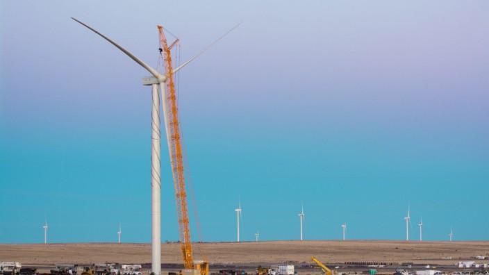 Windkraftanlagen: Windturbine von Siemens Gamesa in New Mexiko.