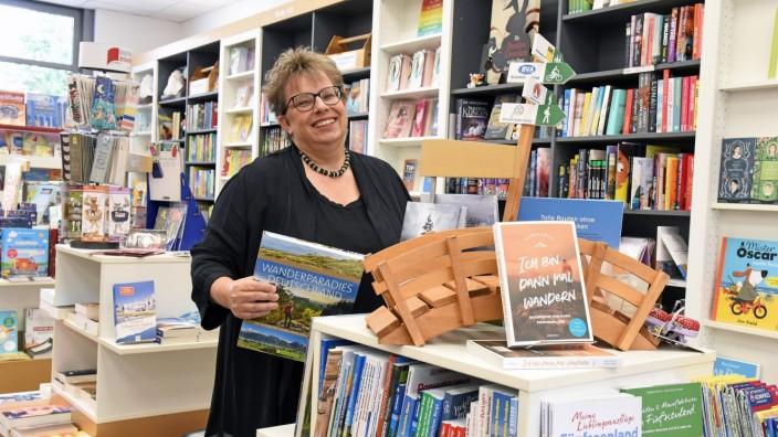 Literatur: Seit 2007 führt Nicola Bräunling ihre Buchhandlung in Puchheim.