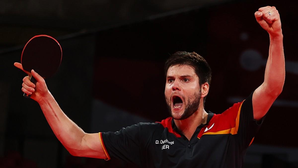 Olympia: Deutschland im Tischtennis-Finale - dort wartet der Gigant