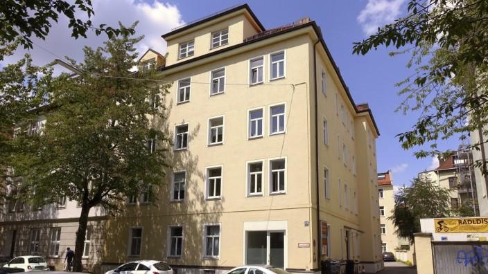 Wohnen: Gepflegt, aber nicht luxuriös: Das Haus in der Guldeinstraße.