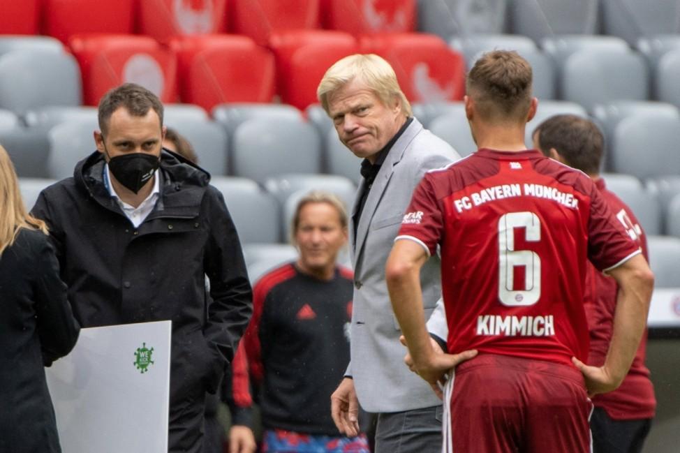 Vorstandsvorsitzender Oliver Kahn (FC Bayern Muenchen AG), Teampraesentation FC Bayern Muenchen, 04.08.21 Muenchen Bayer