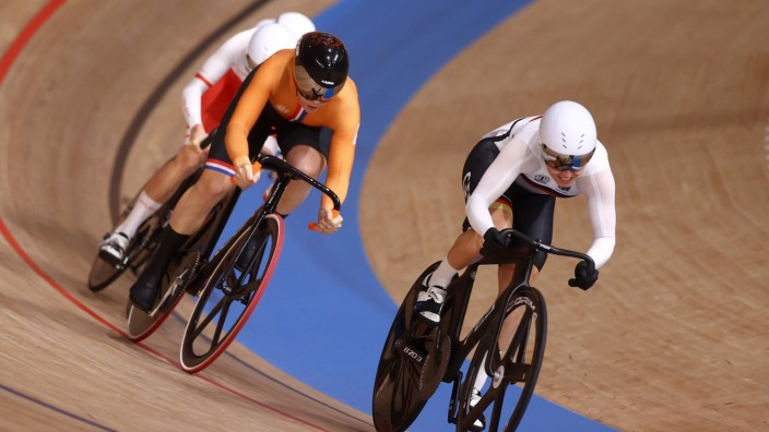 Cycling - Track - Women's Keirin - Repechage Round