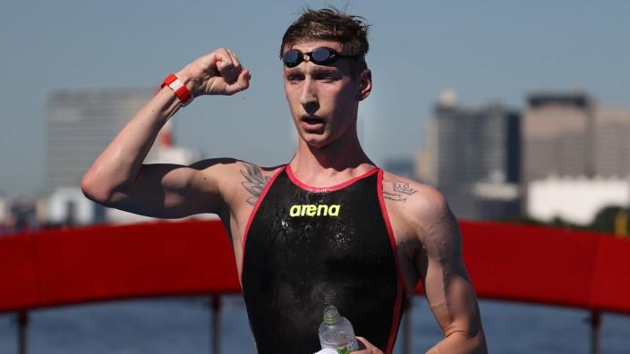 Marathon Swimming - Olympics: Day 13