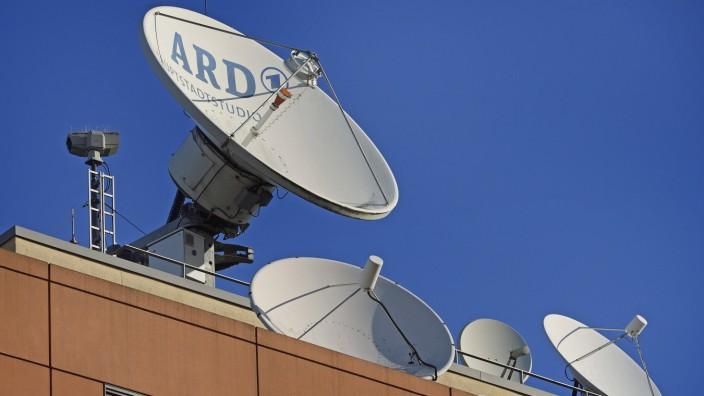 Öffentlich-rechtlicher Rundfunk: ARD-Hauptstadtstudio in Berlin
