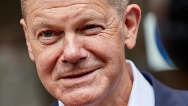 SPD-Kanzlerkandidat Olaf Scholz auf Tour in Kiel
