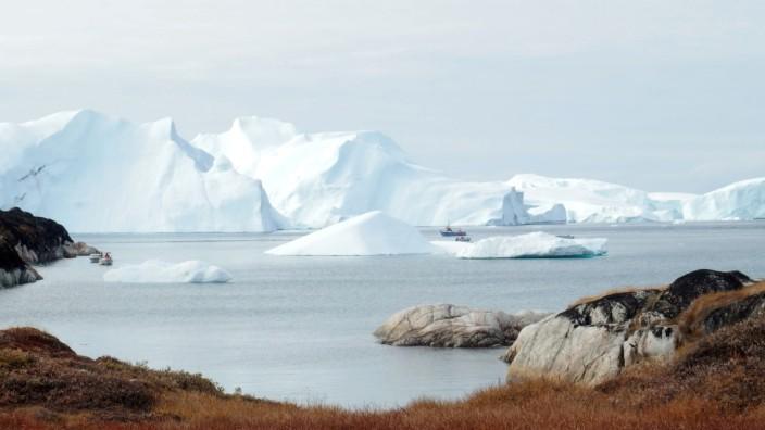 Eisberge bei Ilulissat in Grönland