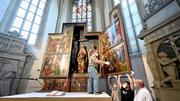 Crailsheimer Altar mit möglichem Albrecht Dürer Bild