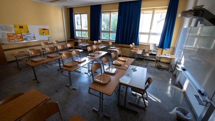 Letzter Schultag in Bayern
