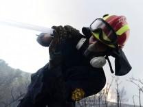 """Feuerwehr: """"Waldbrände werden am Boden gelöscht"""""""
