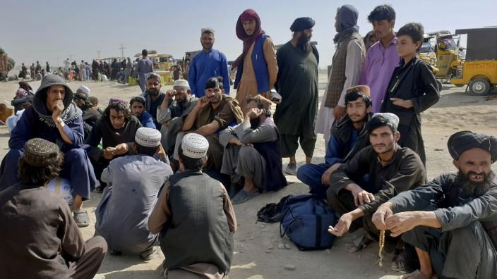 Grenzübergang zwischen Pakistan und Afghanistan