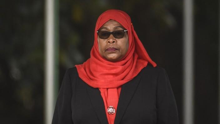 Samia Suluhu Hassan, Präsidentin von Tansania