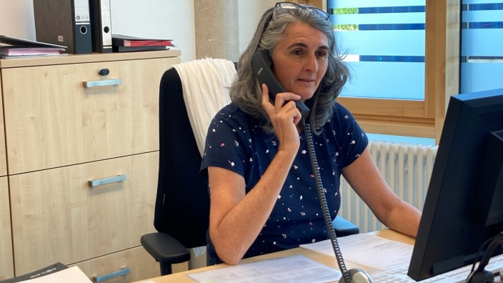 Sabine Olschewski Teamleiterin GWG-Hausverwaltung  Ute-Strittmatter-Straße 32  Freiham.
