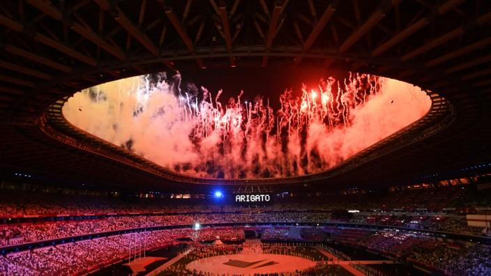 Tokio 2020 - Abschlussfeier