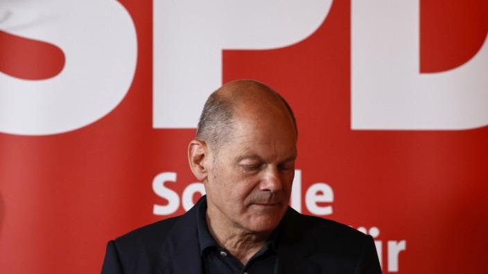 Olaf Scholz, Bundesfinanzminister und Kanzlerkandidat der SPD