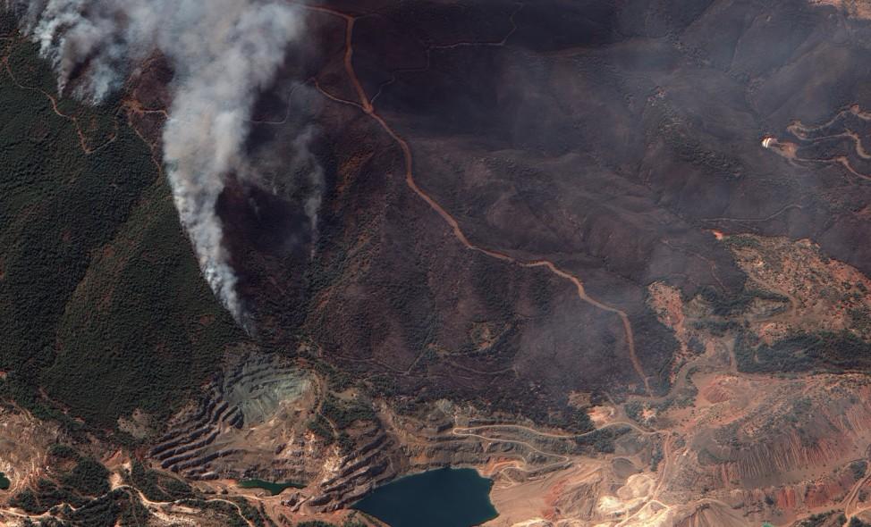 Waldbrände in Griechenland