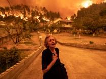 Waldbrände in Griechenland: Zorn der Götter