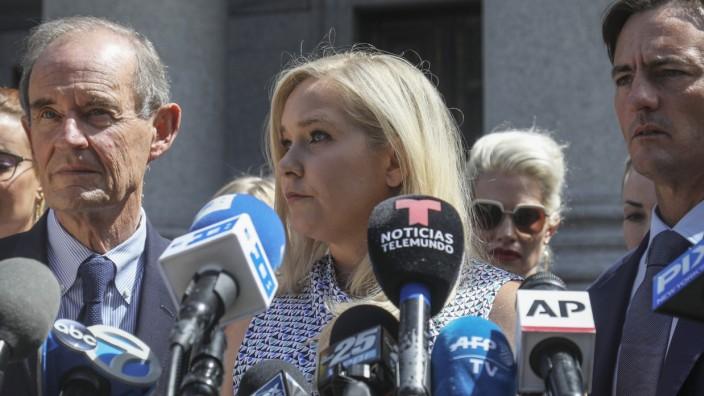 Klage wegen Missbrauchs: Am Montag reichte Virginia Giuffre in New York Klage gegen Prinz Andrew ein.