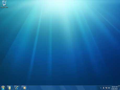 Windows 7 Desktop, Microsoft