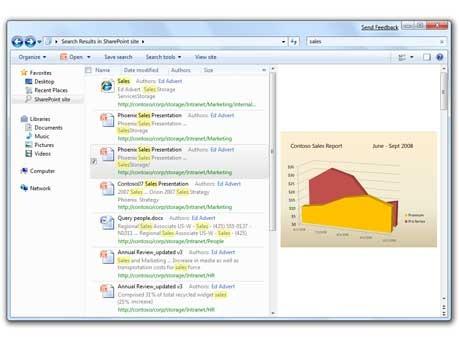 Suche, Windows 7 - Microsoft