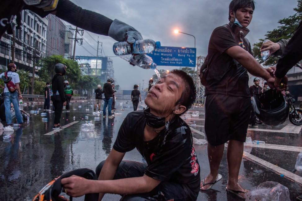 Coronavirus - Proteste in Thailand