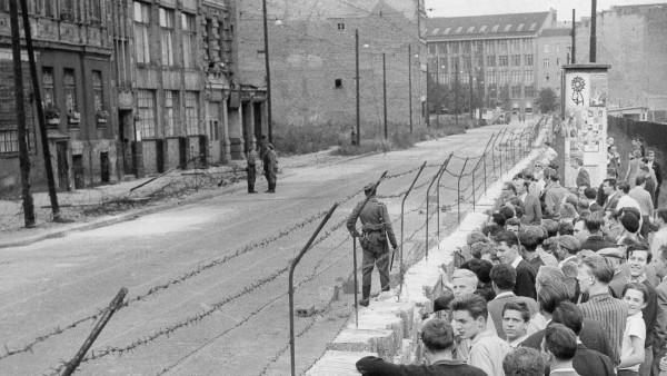 Mauerbau, 1961