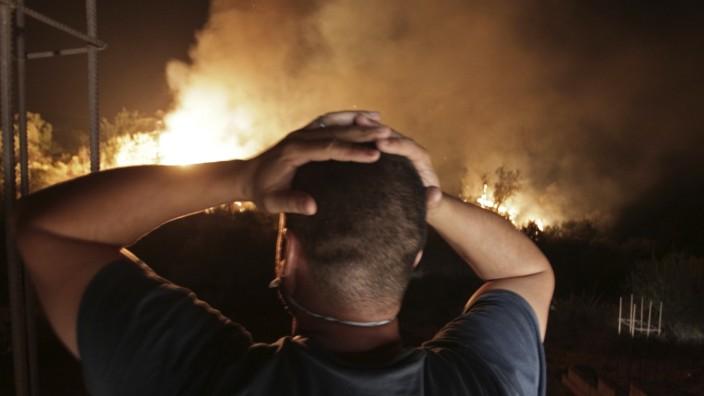 Waldbrände in Algerien