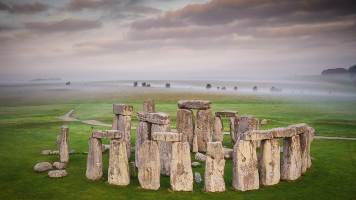 FILE PHOTO: General view of the Stonehenge stone circle, near Amesbury