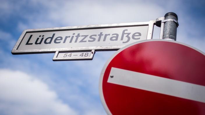 Berliner Schilderstreit - Lüderitzstraße